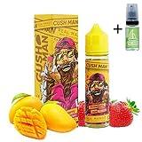 E Liquid Nasty Juice Cush Man Mango Strawberry 50ml - 70vg 30pg - booster shortfill + E Liquid The Boat 10 ml lima limón - Para cigarrillo electrónico.