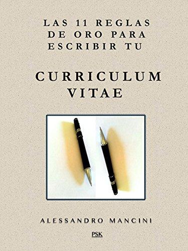 Portada del libro Las 11 reglas de oro para escribir tu Curriculum Vitae
