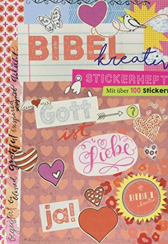 Stickerheft Bibel kreativ - Gott ist Liebe
