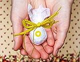 Seedball Gastgeschenk mit Herz, Sonne