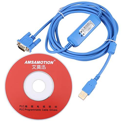 3 Meter USB Programmierkabel für Omron CQM1H / CPM2C Serie mit CD -