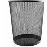 Tied Ribbons Metal Mesh Dustbin For Office Big | Dustbin For Office Table (Pink)