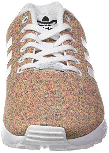 adidas Zx Flux, Baskets Homme Blanc (Footwear White/footwear White/footwear White)