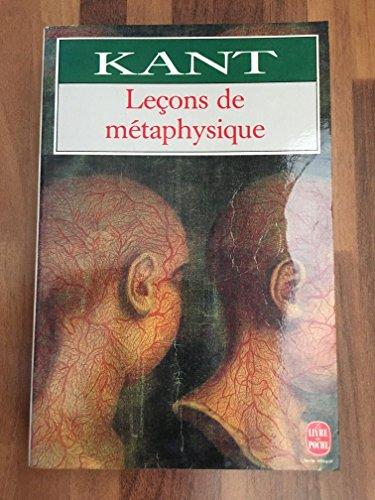 Leçons de métaphysique