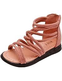 hibote Sandalias de Las Niñas, Moda de Las Muchachas de los Cabritos de la Primavera