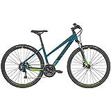 Bergamont Helix 3 Damen Cross Trekking Fahrrad Petrol blau/schwarz 2019: Größe: 52cm (170-180cm)
