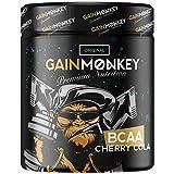 Original GAINMONKEY BCAA Pulver | Aminosäuren Komplex für Männer und Frauen im Fitness | Premium BCAAs Amino Mix 2:1:1 (Cherry Cola)