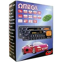 Omega 12070coche reproductor de casete estéreo 4salida de canal pantalla lcd AM/FM Radio