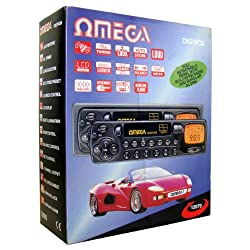 Omega 12070 Car Stereo Cassette Player 4 Channel Output Lcd Display Amfm Radio