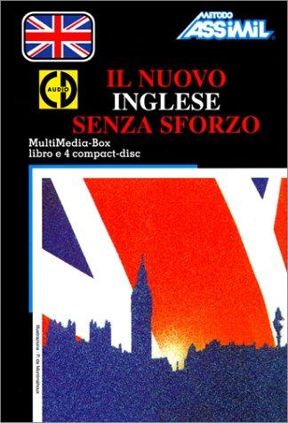 Il Nuovo Inglese senza sforzo (1 livre + coffret de 4 CD) (en italien)
