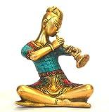 AapnoCraft Antik Musical Lady Statue Musical Skulptur türkis Figur Dekorationsartikel Home Decor & Hochzeit Geschenke