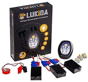 MySyS LUKIDA - 12 Volt DC Lichtsteuerungssystem Funkdimmer für Wohnwagen, Wohnmobile, Gartenhäuser und Boote