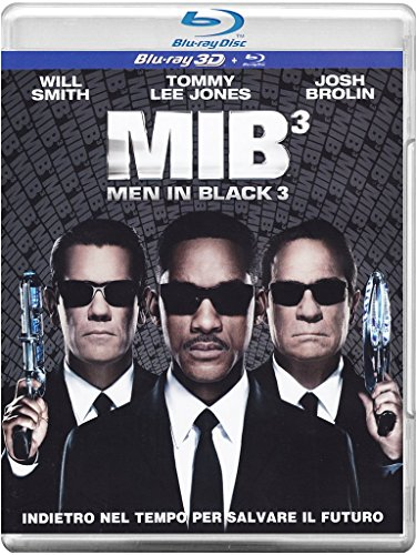 MIB 3 - Men in Black 3 [Blu-ray + 3D] [IT Import]