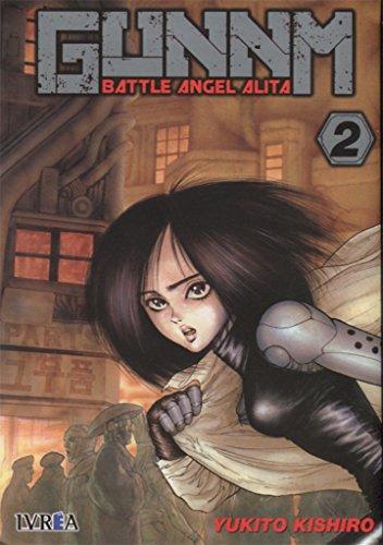 Gunnm Battle Angel Alita - Número 2 por Yukito Kishiro