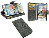 Huawei Ascend G610 Buchtasche Hülle Case Tasche Wallet