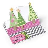 Sizzix-Triplits-Dies-By-Stephanie-Barnard-Christmas-Trees-14Pkg