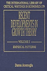 Recent Developments in Growth Theory (International Library of Critical Writings in Economics) (2-vol. set) (2004-10-04)