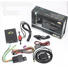Yatek Localizador GPS TK-106 para vehículos. Apaga el Motor por SMS