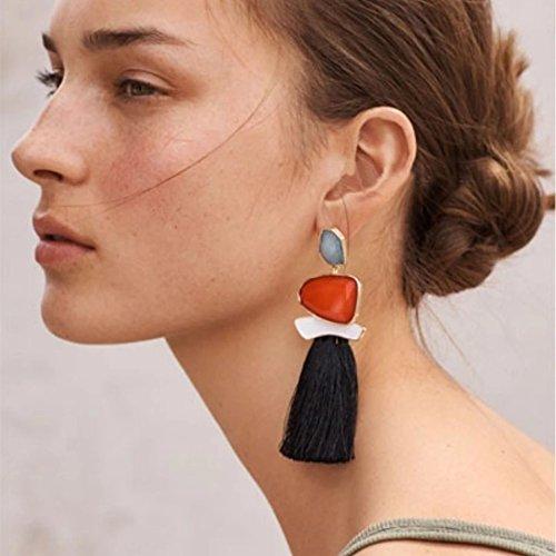 Satyam Kraft fashionable stone tassel earring For Women for wedding/jewellery/traditional jewellery/jewellery for...