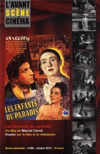 L'Avant-Scène Cinéma, N° 596, Octobre 2012 : Les Enfants du paradis par Marcel Carné