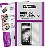 Gigaset GS270 Plus Schutzfolie - 2x dipos Displayschutzfolie Folie klar