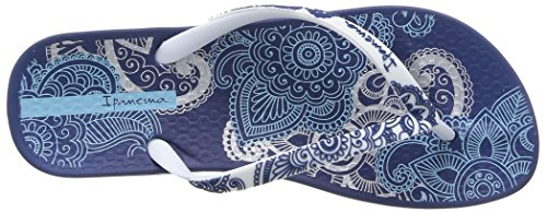 Ipanema Anat Lovely, Tongs femme Multicolore (20247/Blue/White)