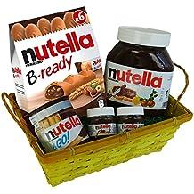 Cesta Regalo para Pascua, San Valentin, Navidad y Aniversario con Ferrero Nutella (5