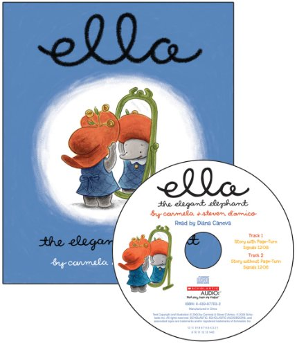 Ella the Elegant Elephant Read Along [With Audio CD] (Audio Elegante)