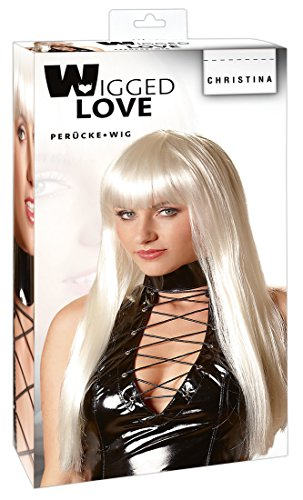 Kostüm Rollentausch - Wigged Love Perücke Christina Platinblond