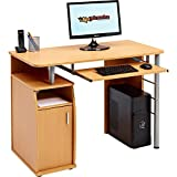 Best Desk For Computers - Computer and Writing Desk with Cupboard, Storage Review