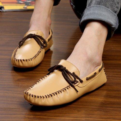 CFP - Stivali con le frange uomo Yellow