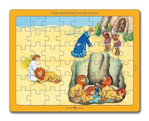 Gott rettet Daniel vor den Löwen: Bibel-Puzzle