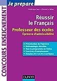Image de Réussir le Français : Professeur des écoles, épreuve d'admissibili