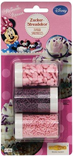 udekor Minnie, 4er Pack (4 x 80 g) (Maus-silhouette)