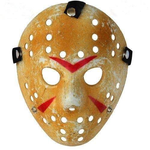 HOCKEY MASK HALLOWEEN HORROR ACCESSORI PER COSTUME DA
