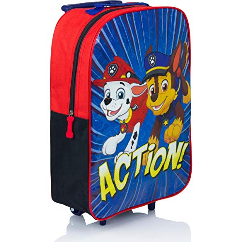 4273 OSAB-Fashion Süßer Kinder Trolley Reise-Tasche - PAW Patrol Rescue Team (paw-Patrol, Kids-Uni)