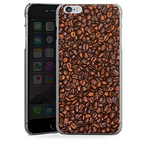 Apple iPhone X Silikon Hülle Case Schutzhülle Kaffee Bohnen Coffee Hard Case anthrazit-klar