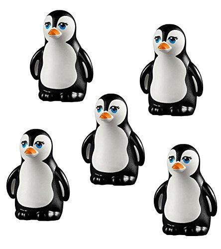 lego-lot-5-pcs-new-penguin-south-pole-arctic-winter-bird-animal-figure-minifig