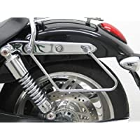 Saddlebag supports Fehling for Harley Davidson Softail Breakout 13-18 silver FXSB