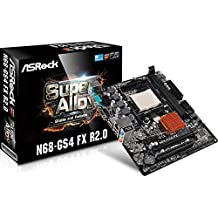 Asrock N68-GS4 FX R2.0 NVIDIA nForce 630a Socket AM3+ ATX - Placa base (DDR3-SDRAM, DIMM, 1066,1333,1600,1866 MHz, Dual, 16 GB, AMD)