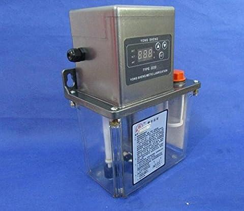 Auto Lubrication Pump 2Liter 2L CNC Digital Electronic Timer 110V