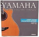 Yamaha - AEP12 - Cordes pour Guitare APX - Acier