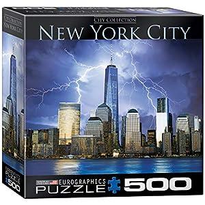 Euro Gráficos Puzzle 500 PC - Nueva York - Centro Mundial de Comercio (MO) - (EG85000731)