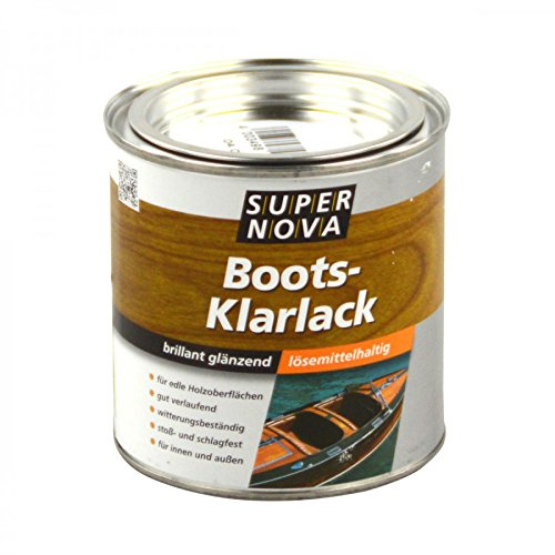Preisvergleich Produktbild SUPER NOVA 20006064100000 Boots-Klarlack, farblos, 2,5 Liter