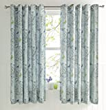 "Dreams & Drapes ""Aviana"" Federe, Uovo d'anatra, Pair of 66x72"" curtains"
