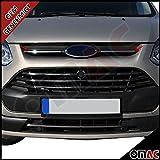 Ford Transit Tourneo Custom 2013-2017 Chrom Edelstahl Grilleisten Kühler Grill