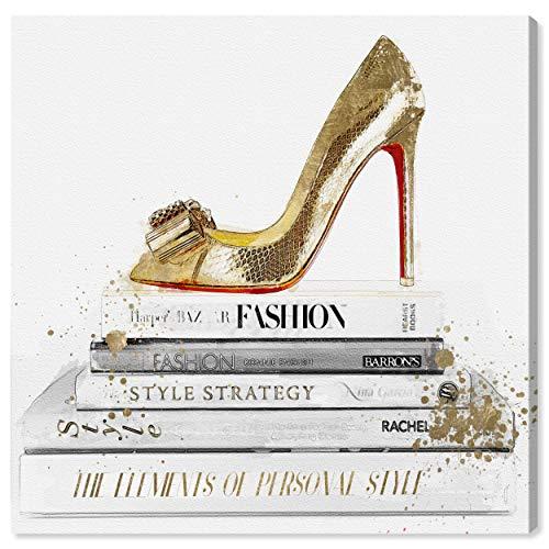 Die Oliver Gal Künstlerin Co. Die Fashion Wandleuchte Kollektion Art Decor, Weiß/Gold, 50,8x 50,8cm