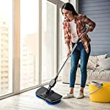 CYS Rotation Cordless Floor Cleaner Scrubber Polisher Electric Rotary Mop Microfiber Cleaning Mop
