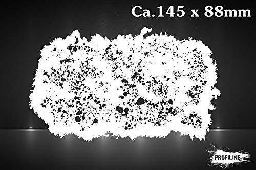 Grunge Effekt Nr. 3 Airbrush Schablone Stencil