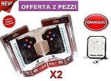 2 JOYSTICK WIRELESS COMPATIBILE PS3 SENZA FILI joypad USB controller VIBRAZIONE